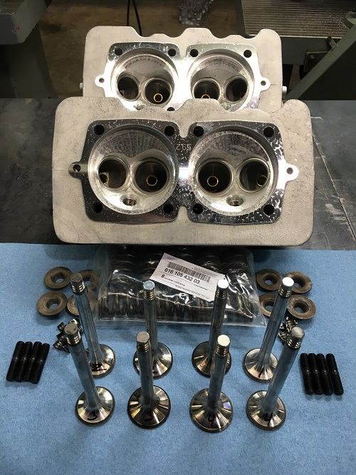 356/912 Porsche Cylinderheads – Hoffman Automotive Machine (706)769-3783